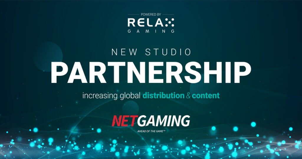 Relax Gaming signs platformpartnership with NetGaming
