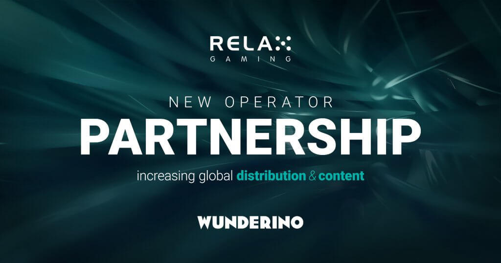 Wunderino to go live with RelaxGaming's slot portfolio