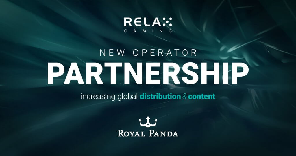 Royal Panda to take on Relax Gaming's slot portfolio