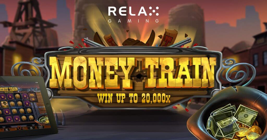 All aboard the Money Train withRelax Gaming's new slot