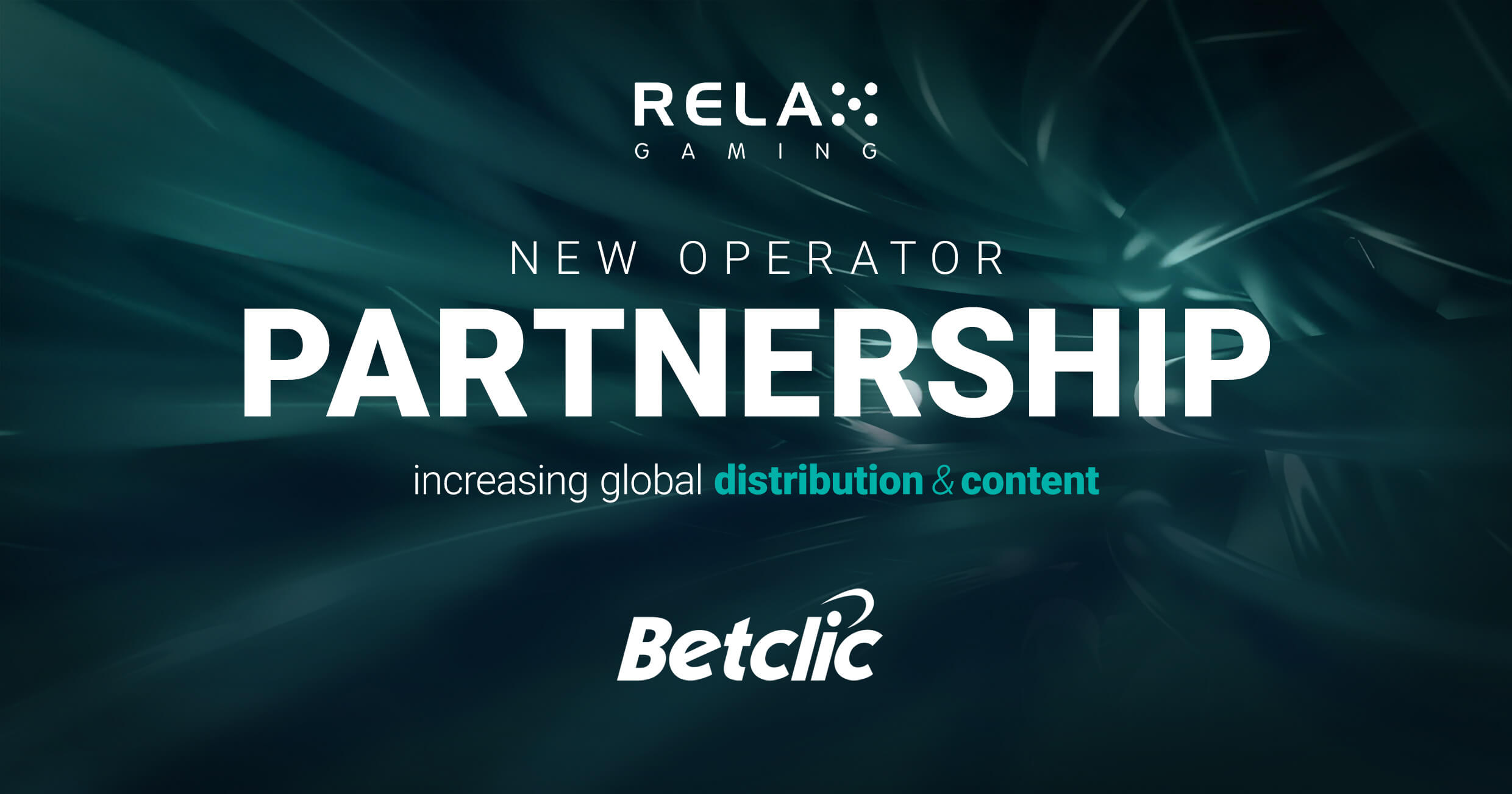 Relax Gaming Continues Extensive Distribution Growth with Leading Operator