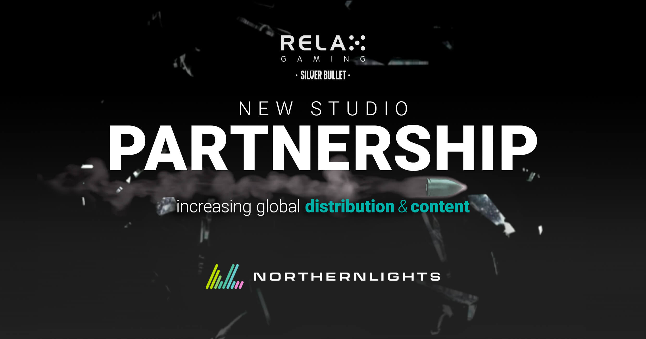 Relax Gaming strikes SilverBullet partnership with NorthernLights