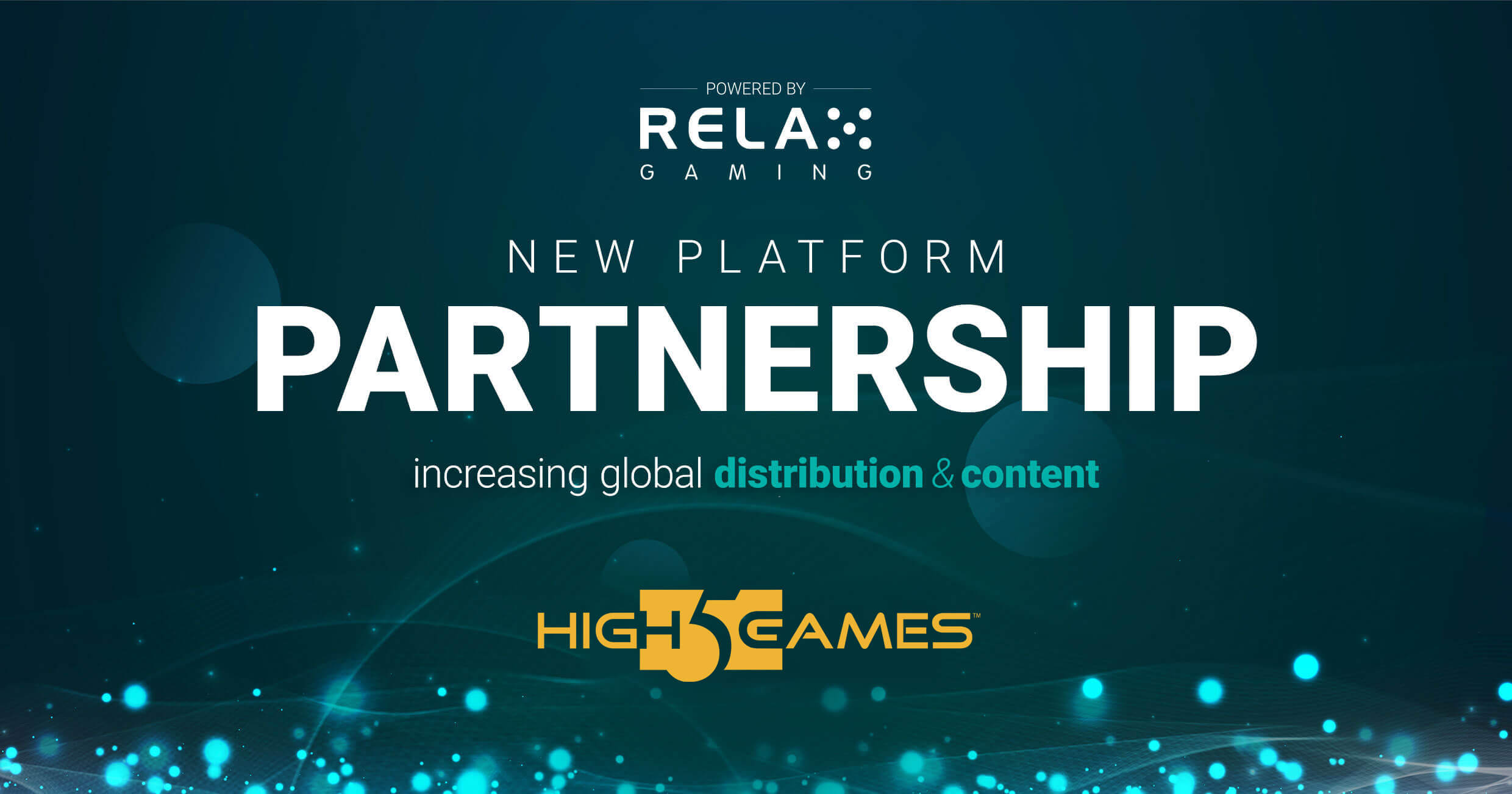 Relax Gaming signs High 5 Games partnership
