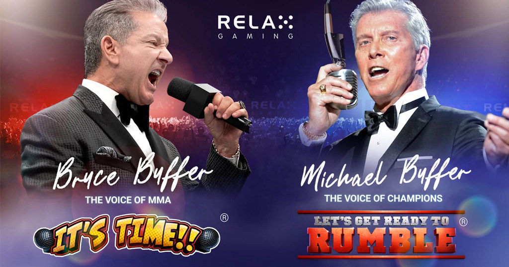 Relax Gaming Announces Let's Get Ready to Rumble® and It's Time® In First Branded Content Deal