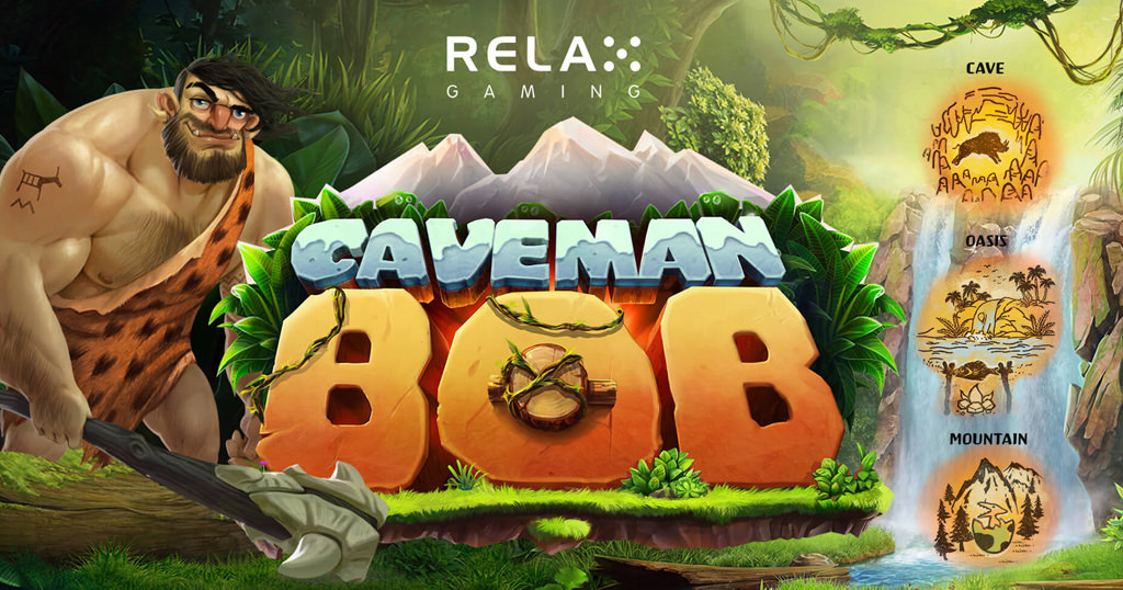 Explore a bygone age in Relax Gaming's Caveman Bob