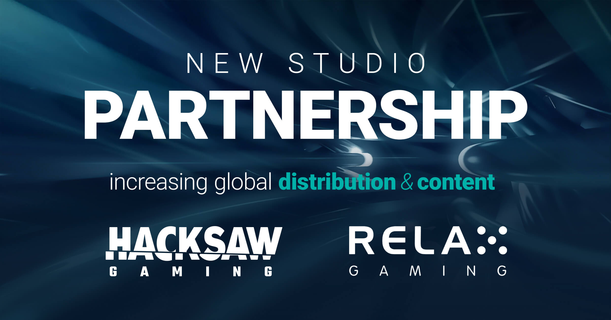 Relax Gaming strikes Hacksaw Gaming deal