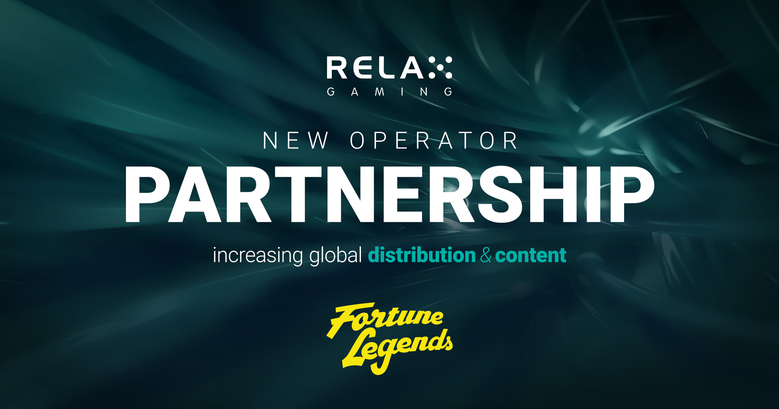 Relax Gaming secures partnership with Fortune Legends