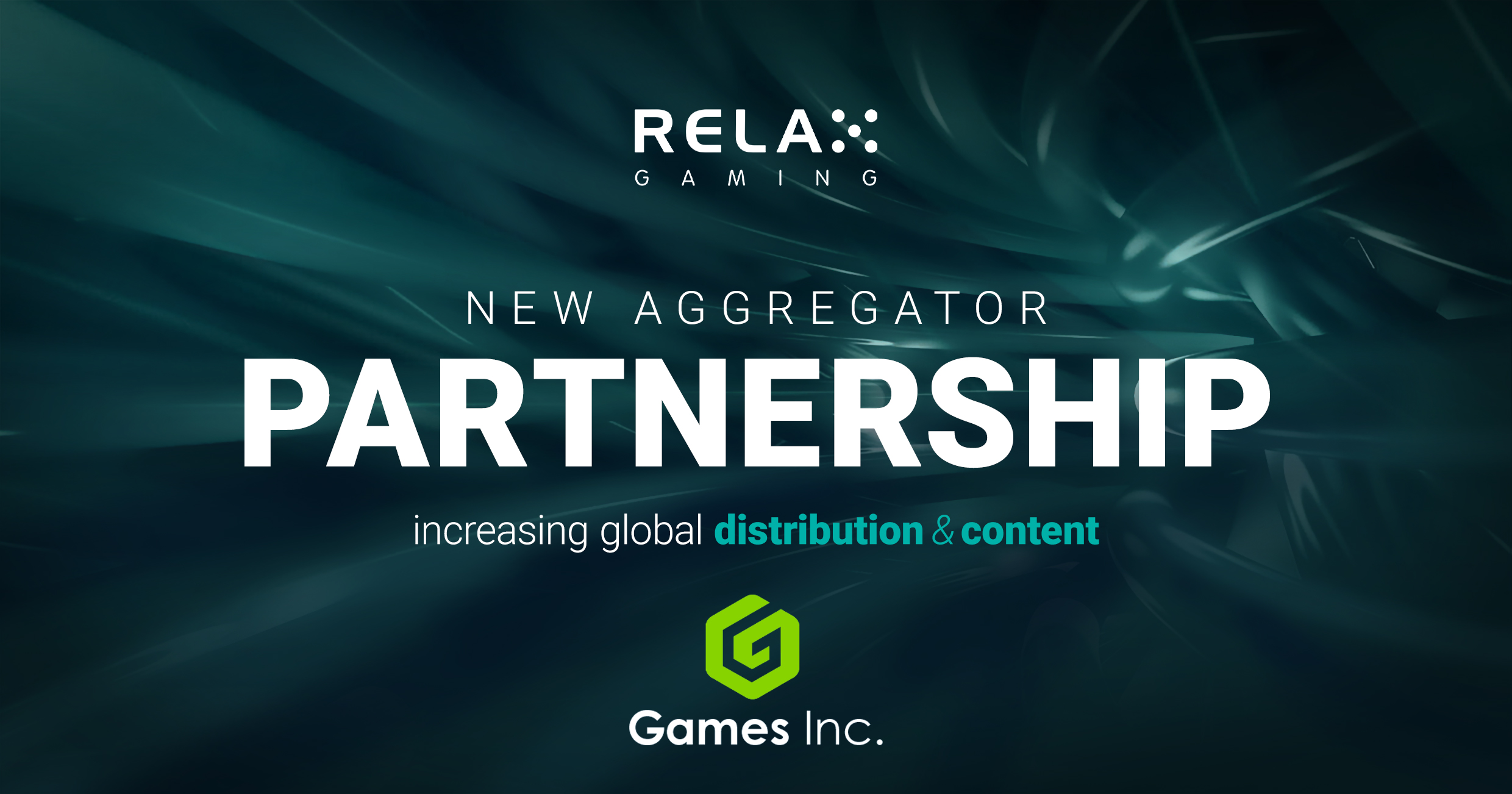 Games Inc joins forces with Relax Gaming