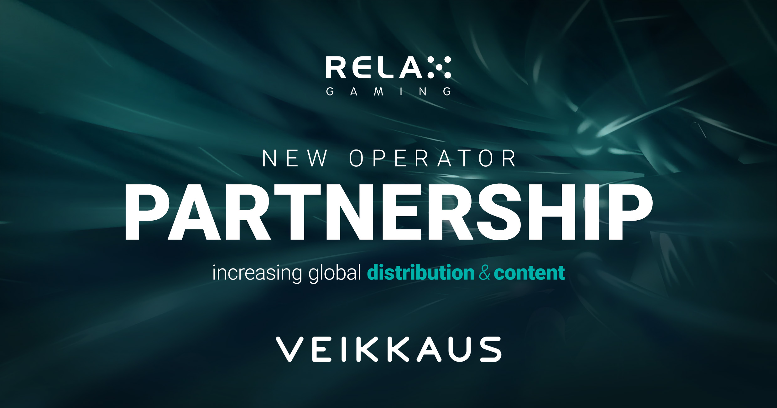 Relax Gaming secures landmark partnership with Veikkaus