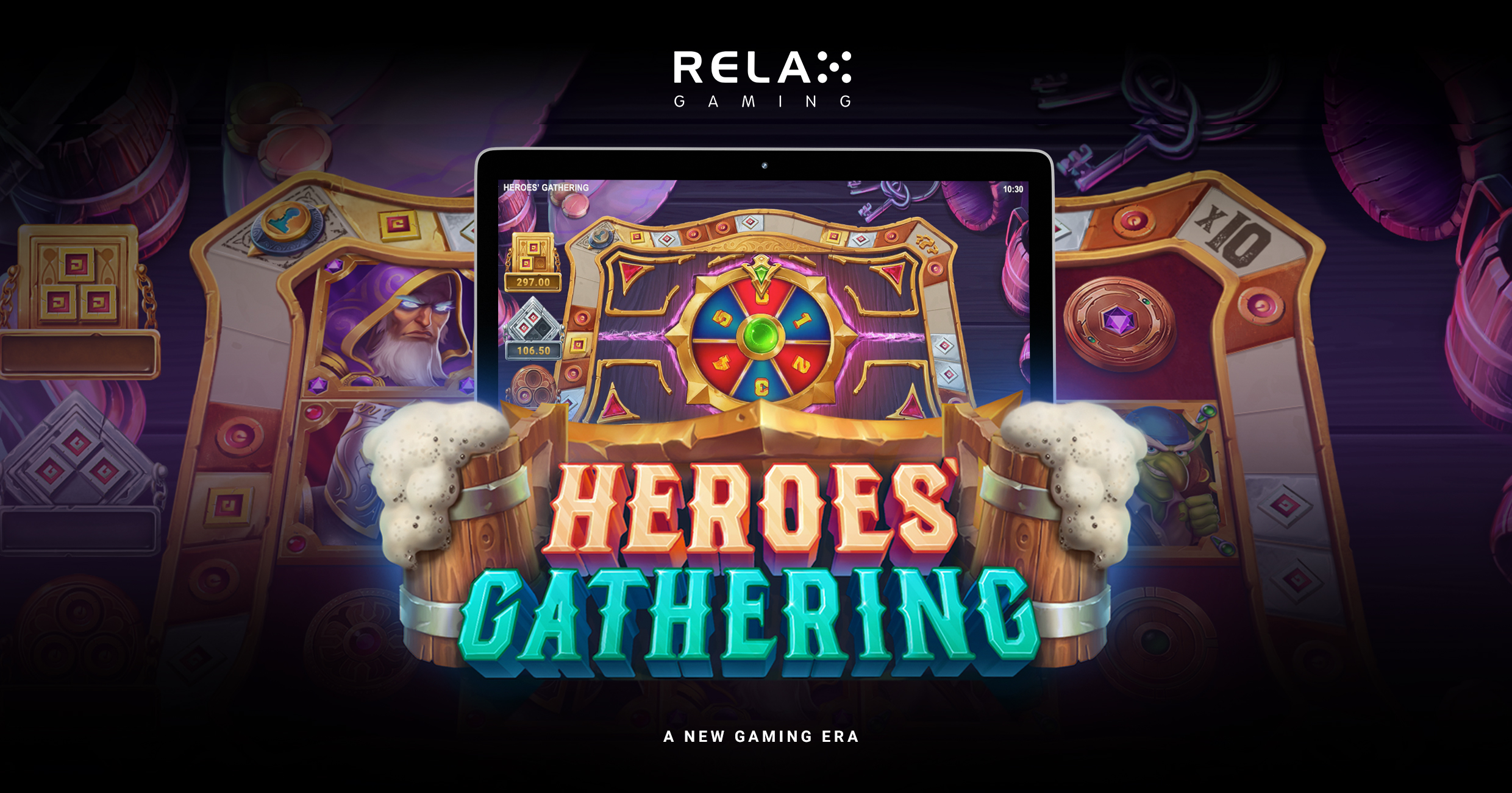 Exhilarating missions await in Relax Gaming's new slot Heroes' Gathering