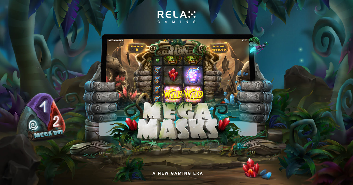 Reawaken adventure in Relax Gaming's Mega Masks
