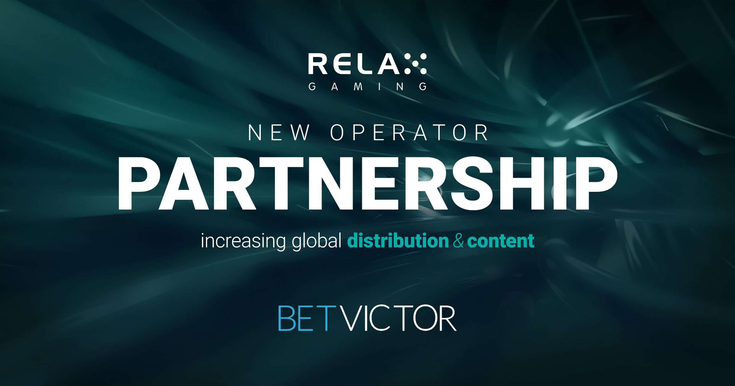 Relax Gaming signs international deal with BetVictor