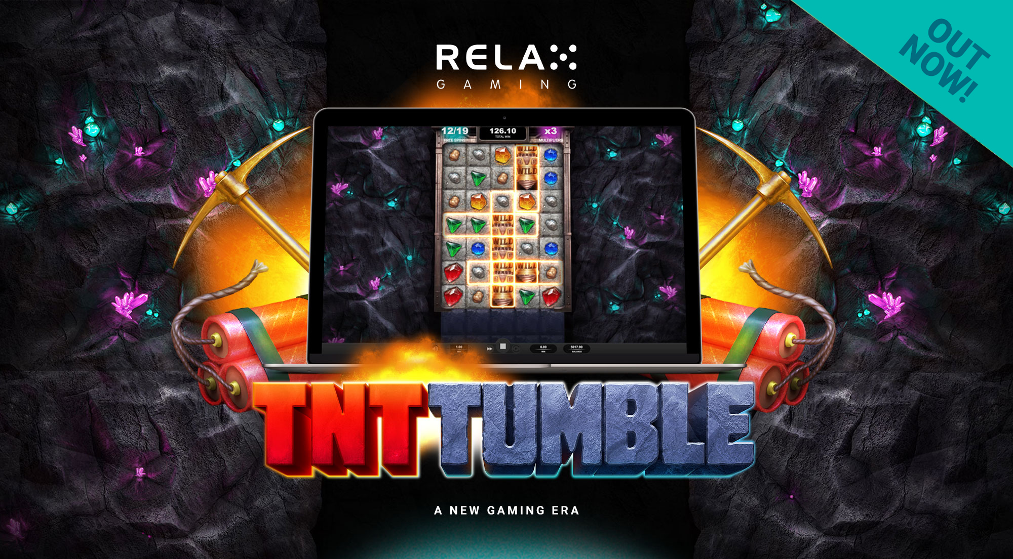 Relax Gaming releases third game in Tumble series with explosive TNT Tumble