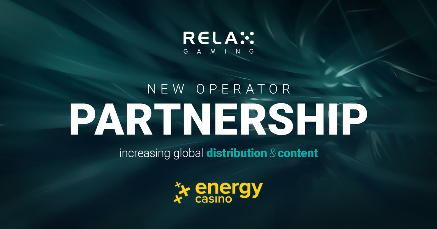 Relax Gaming teams up with EnergyCasino