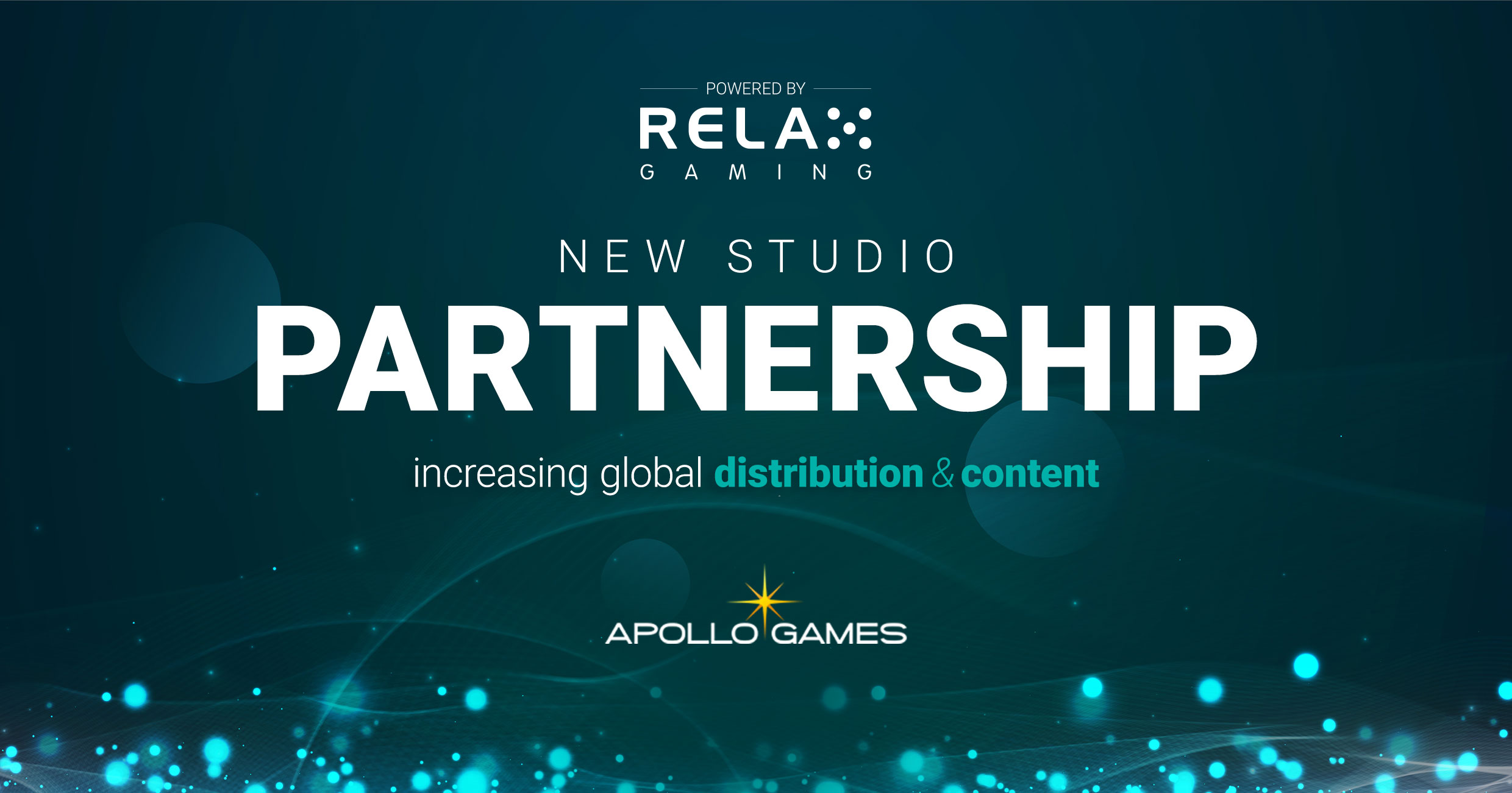 Apollo Games joins Relax Gaming's Powered By programme