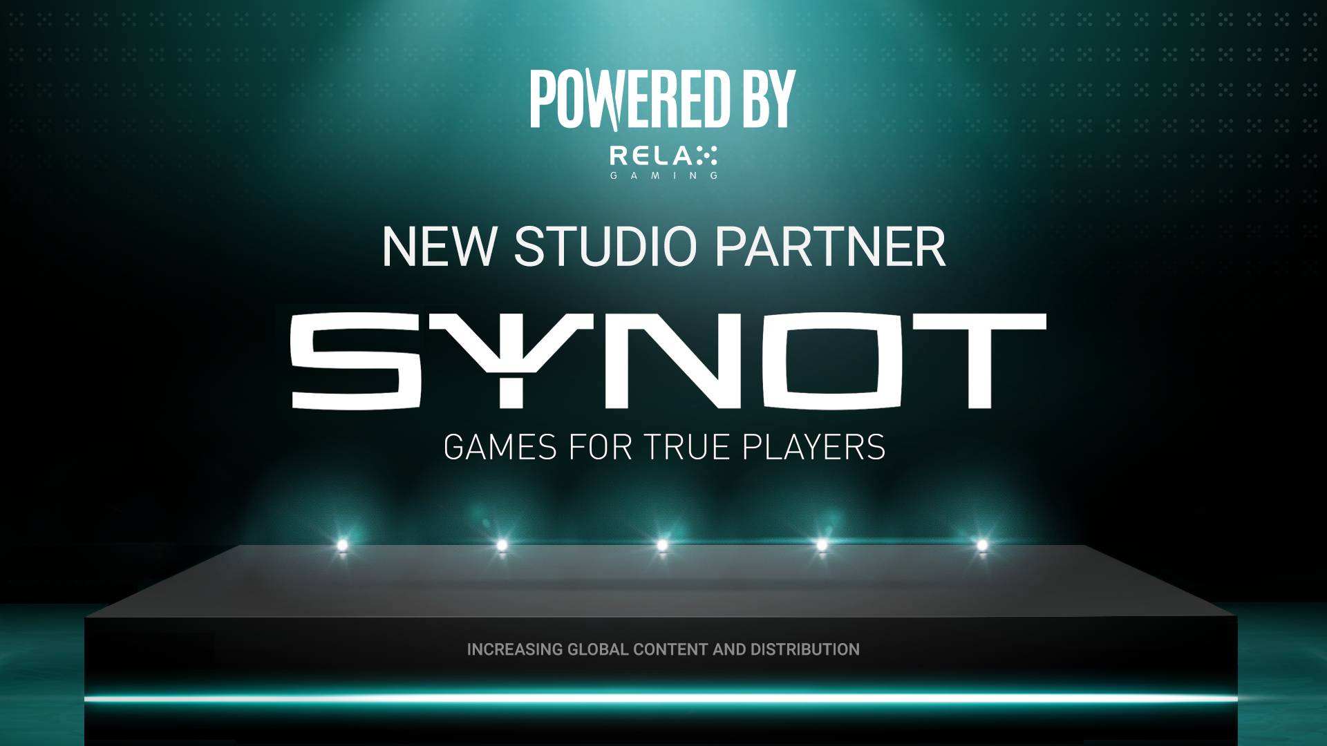 Relax Gaming welcomes new Powered By partner SYNOT Games