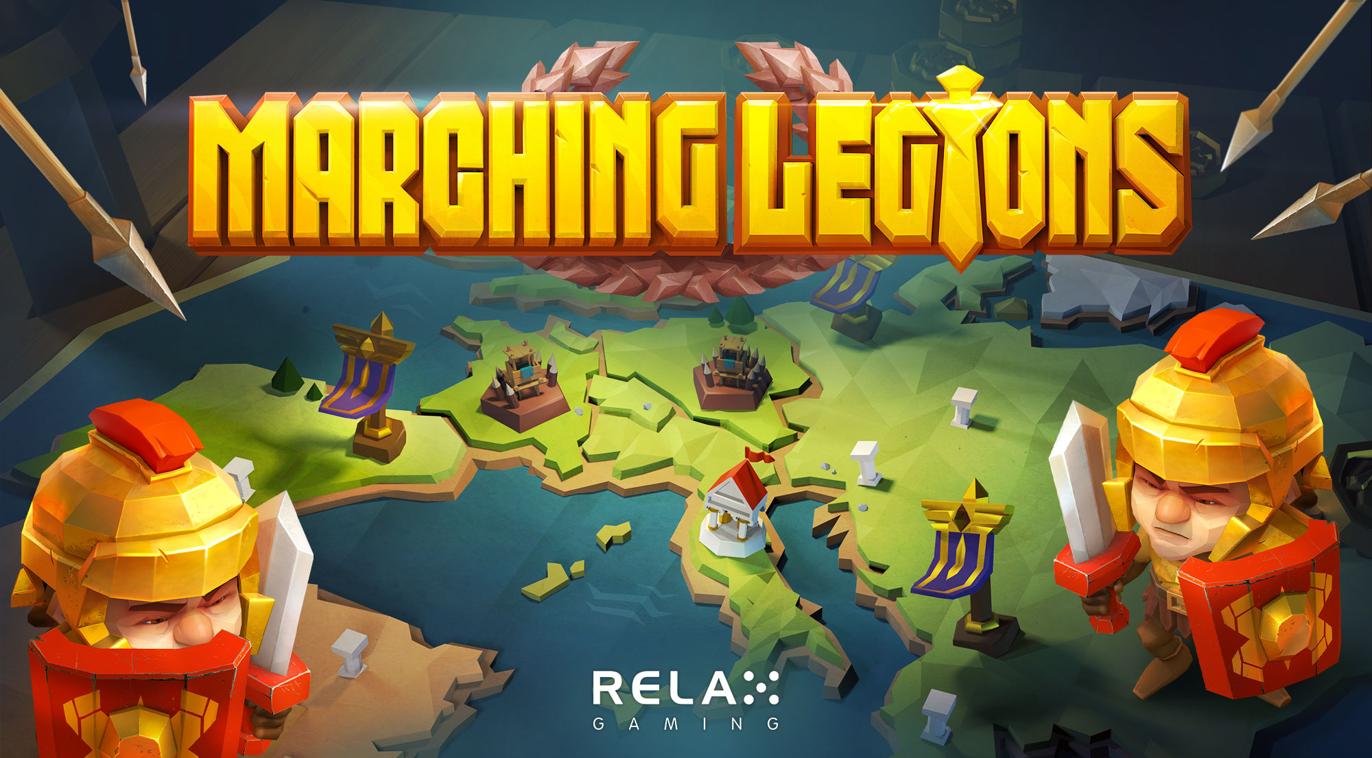 Relax Gaming rallies the troops in its new slot Marching Legions