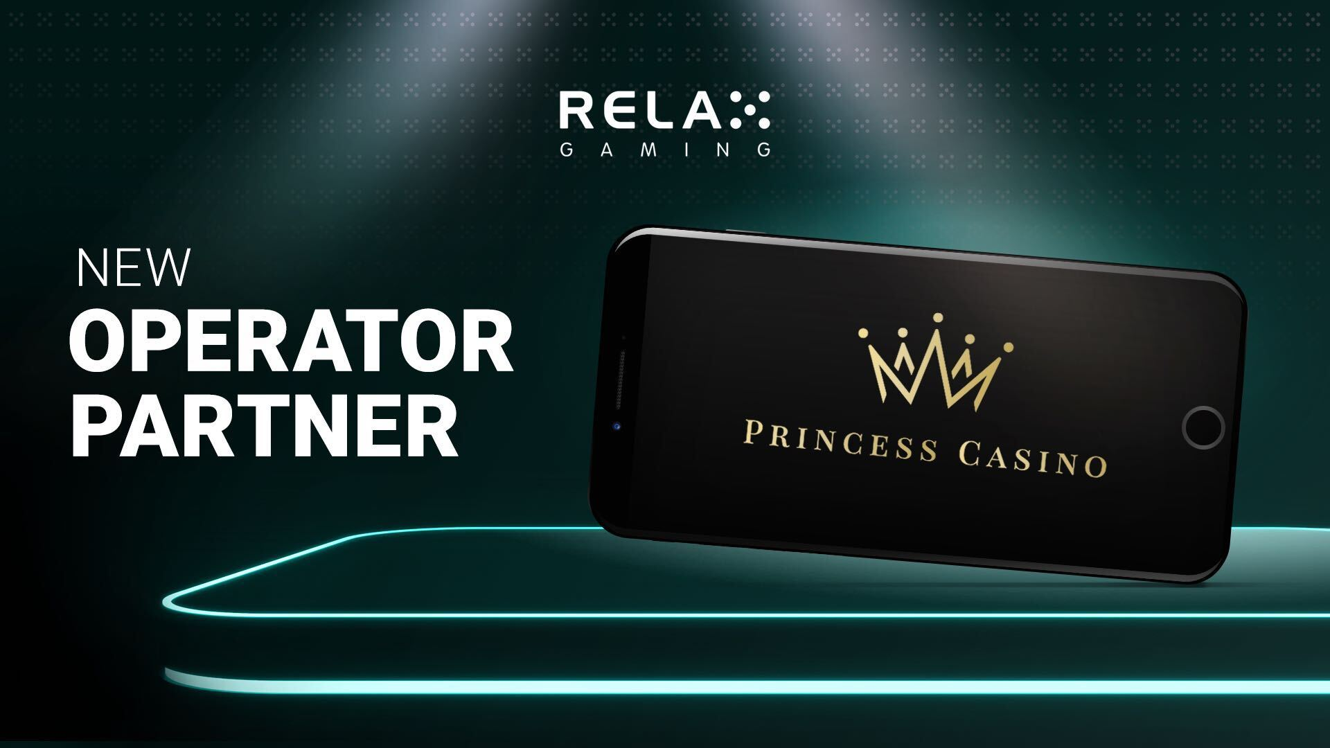 Relax Gaming launches with Princess Casino