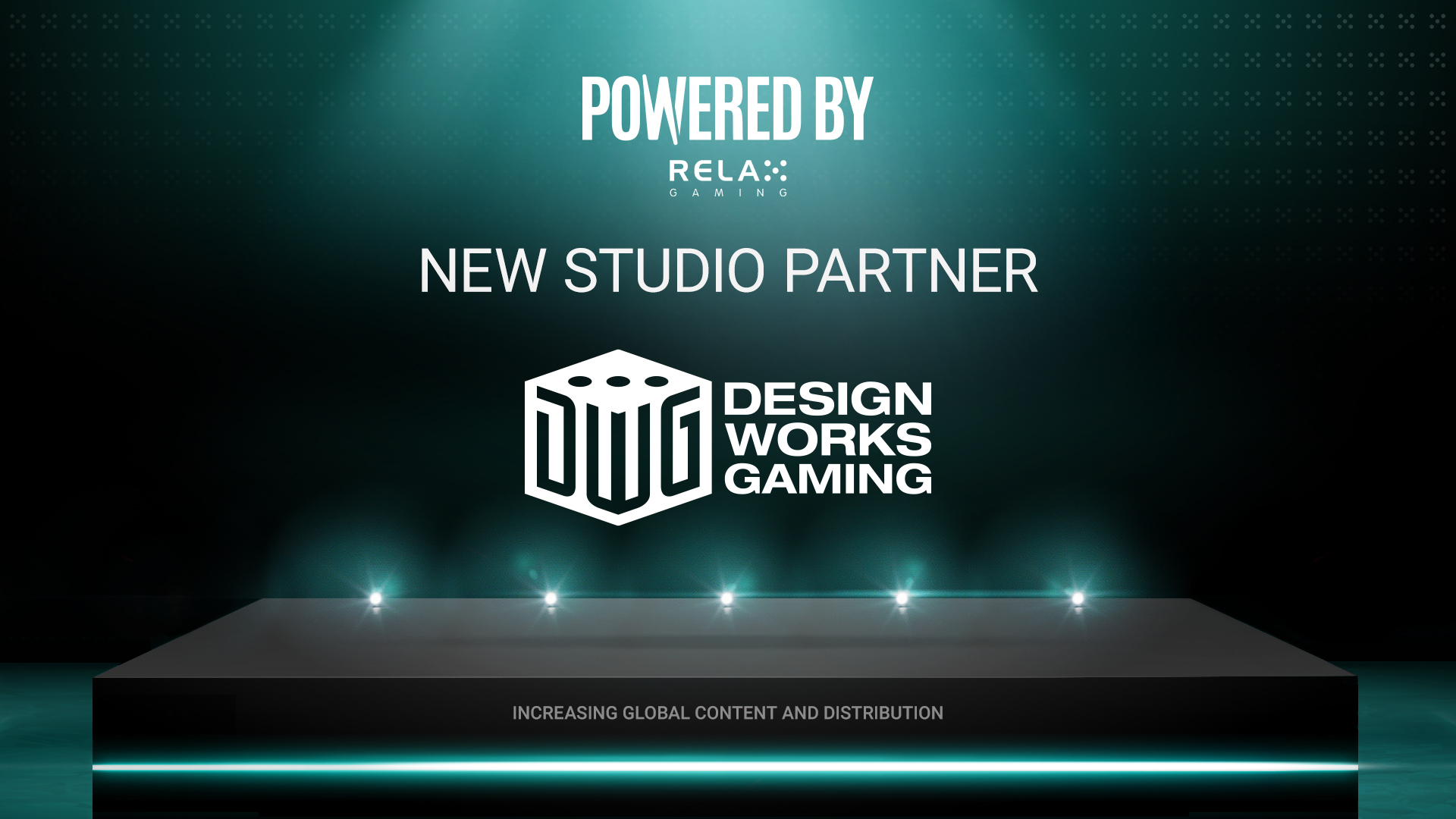 Design Works Gaming joins Relax Gaming's Powered By programme