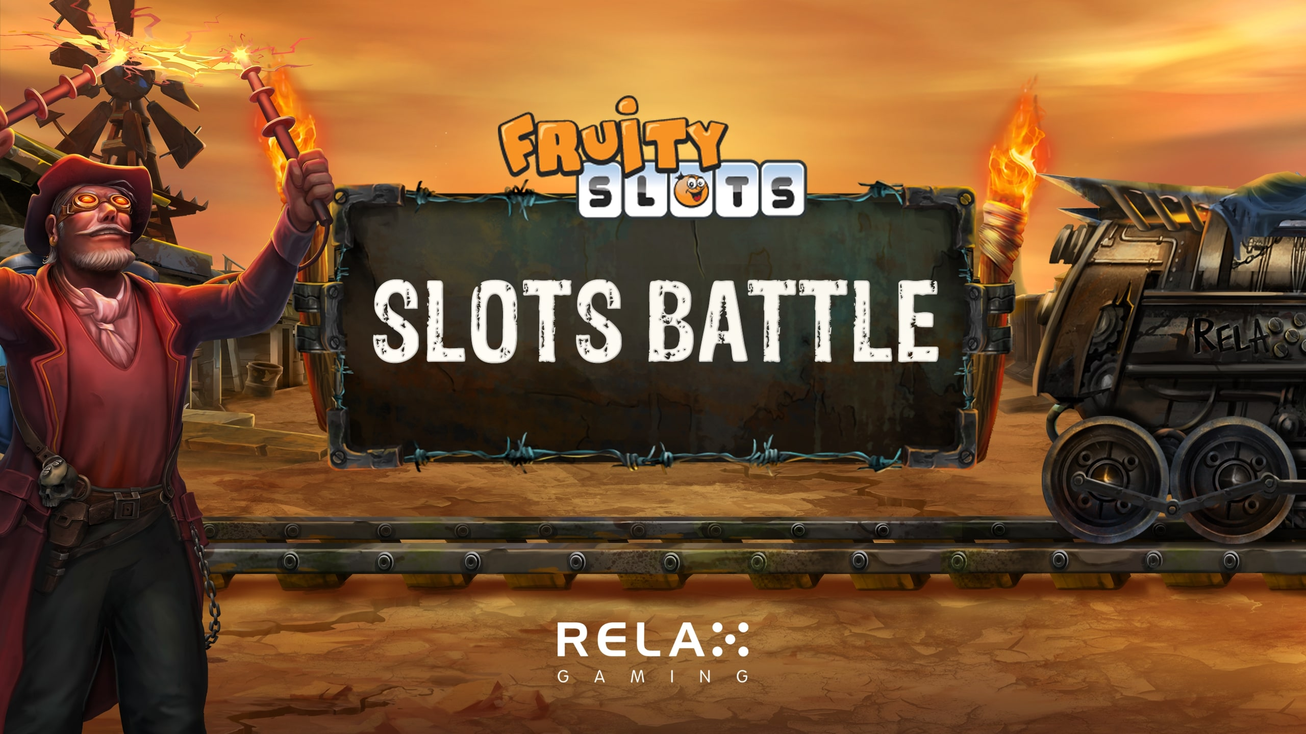 Fruity Slots streamers commence Relax Gaming slot battle