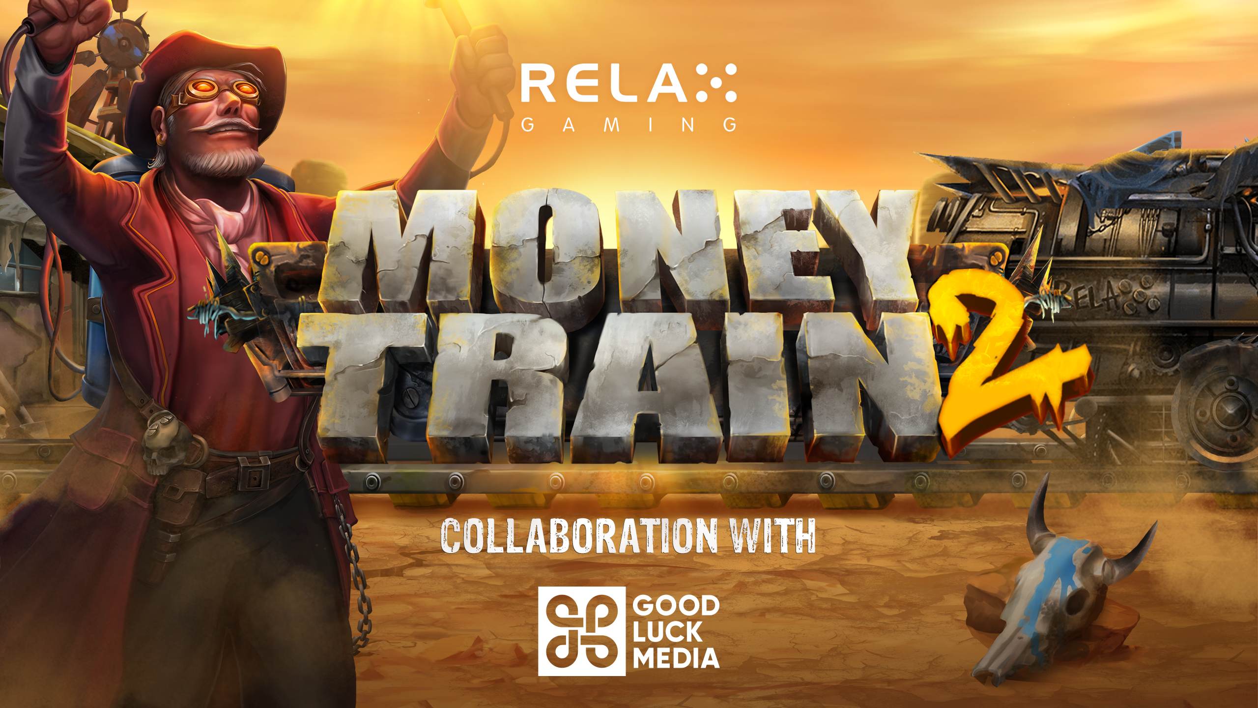 Relax Gaming joins forces with Good Luck Media in Money Train 2 promotion