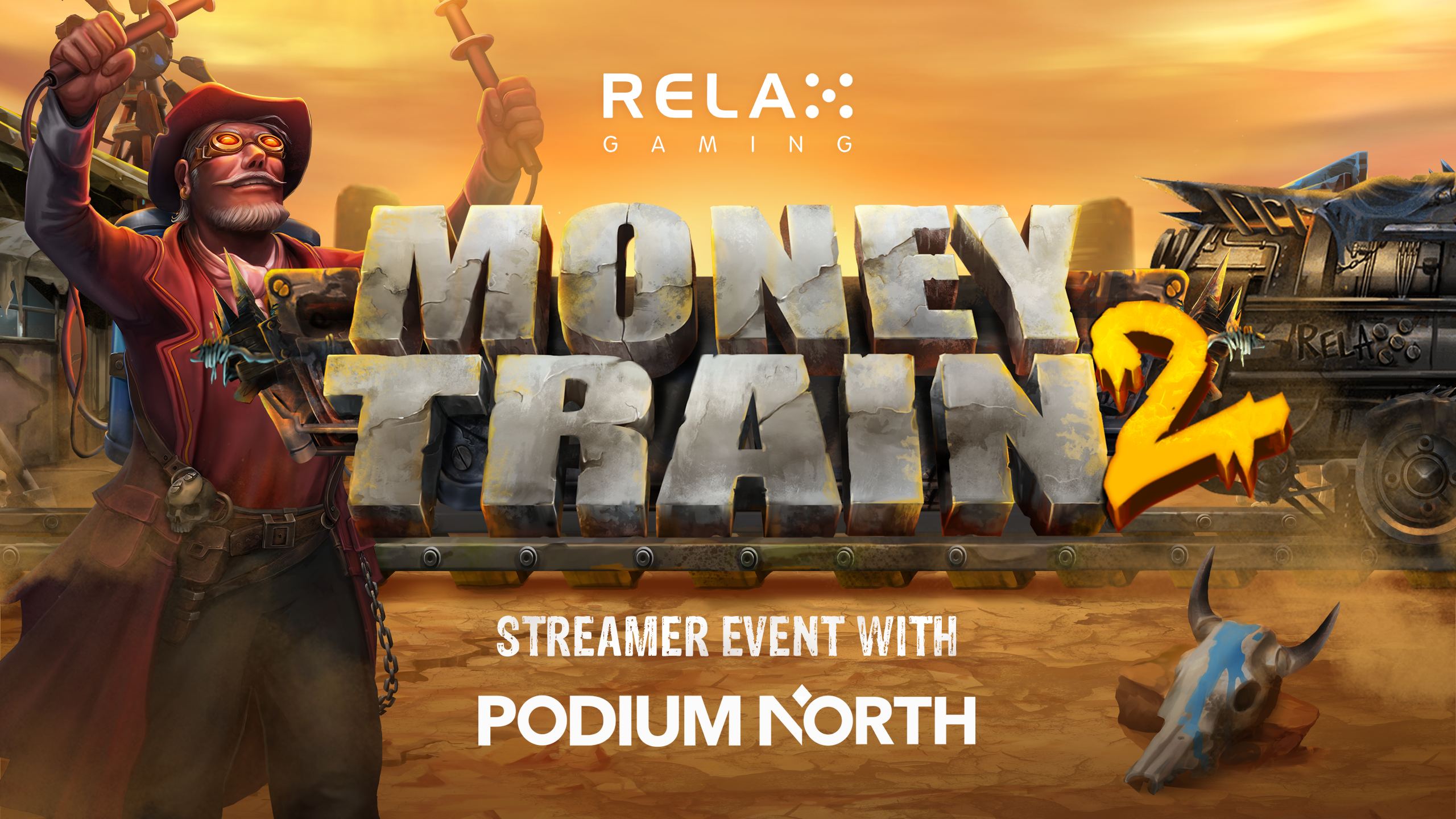 Relax Gaming to host Money Train 2 streamer event with Kasinoranking.com