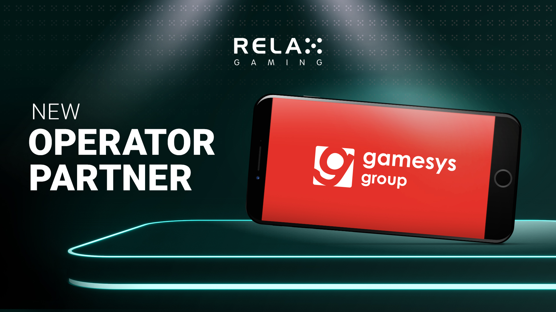 Relax launches with Gamesys Group plc in major UK deal