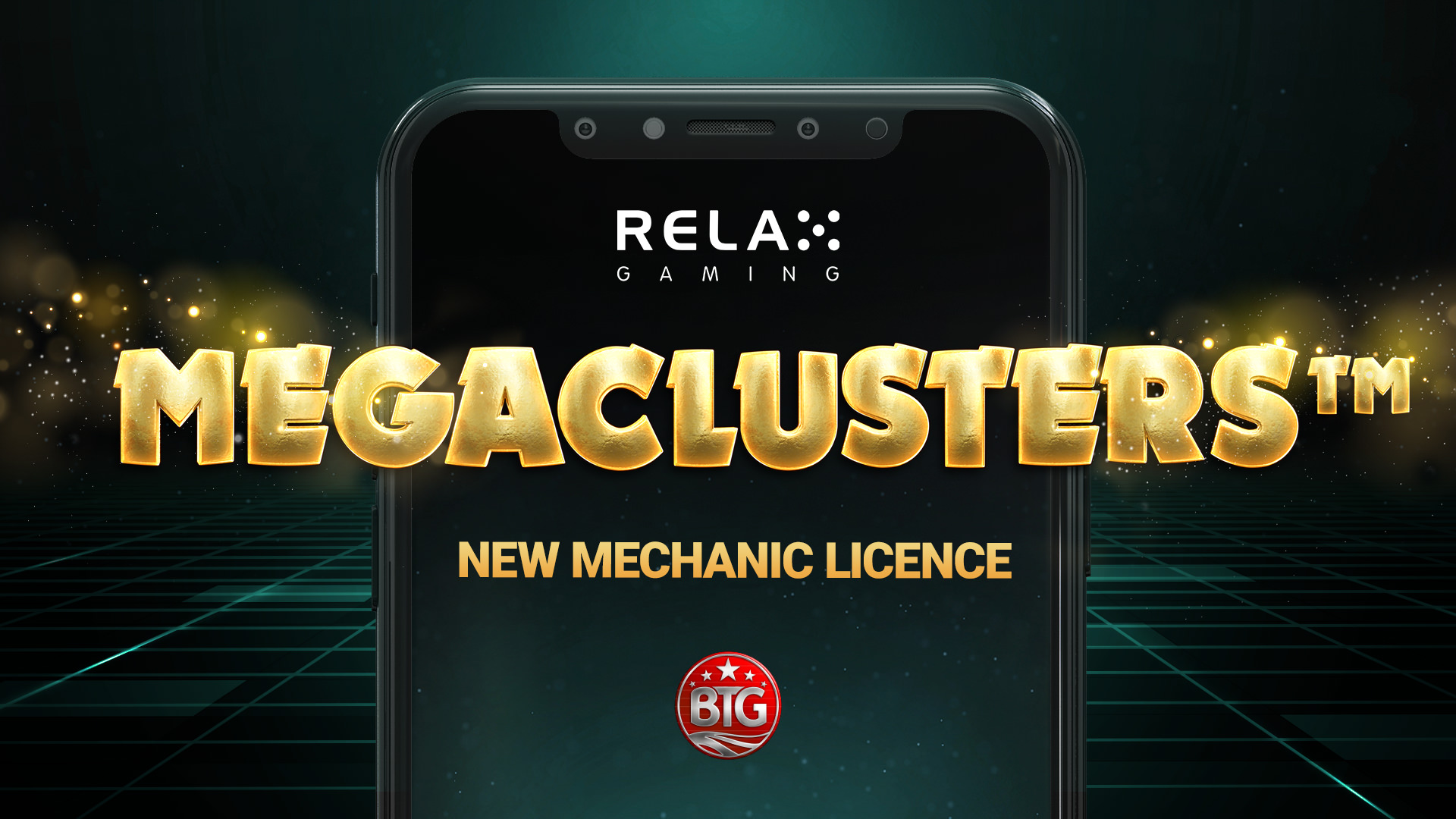 Relax Gaming first to gain rights to Big Time Gaming's Megaclusters™ with 12 months exclusivity