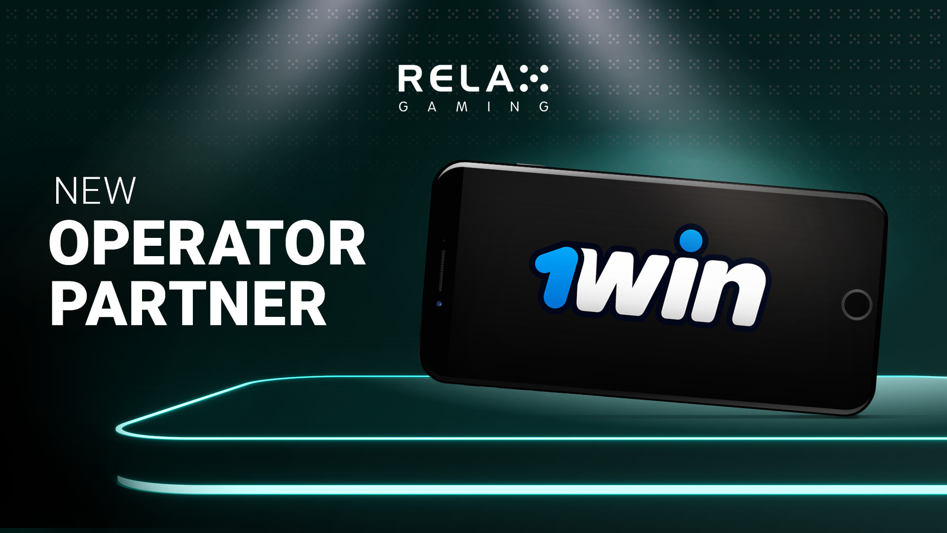 Relax Gaming launches with new online casino 1win