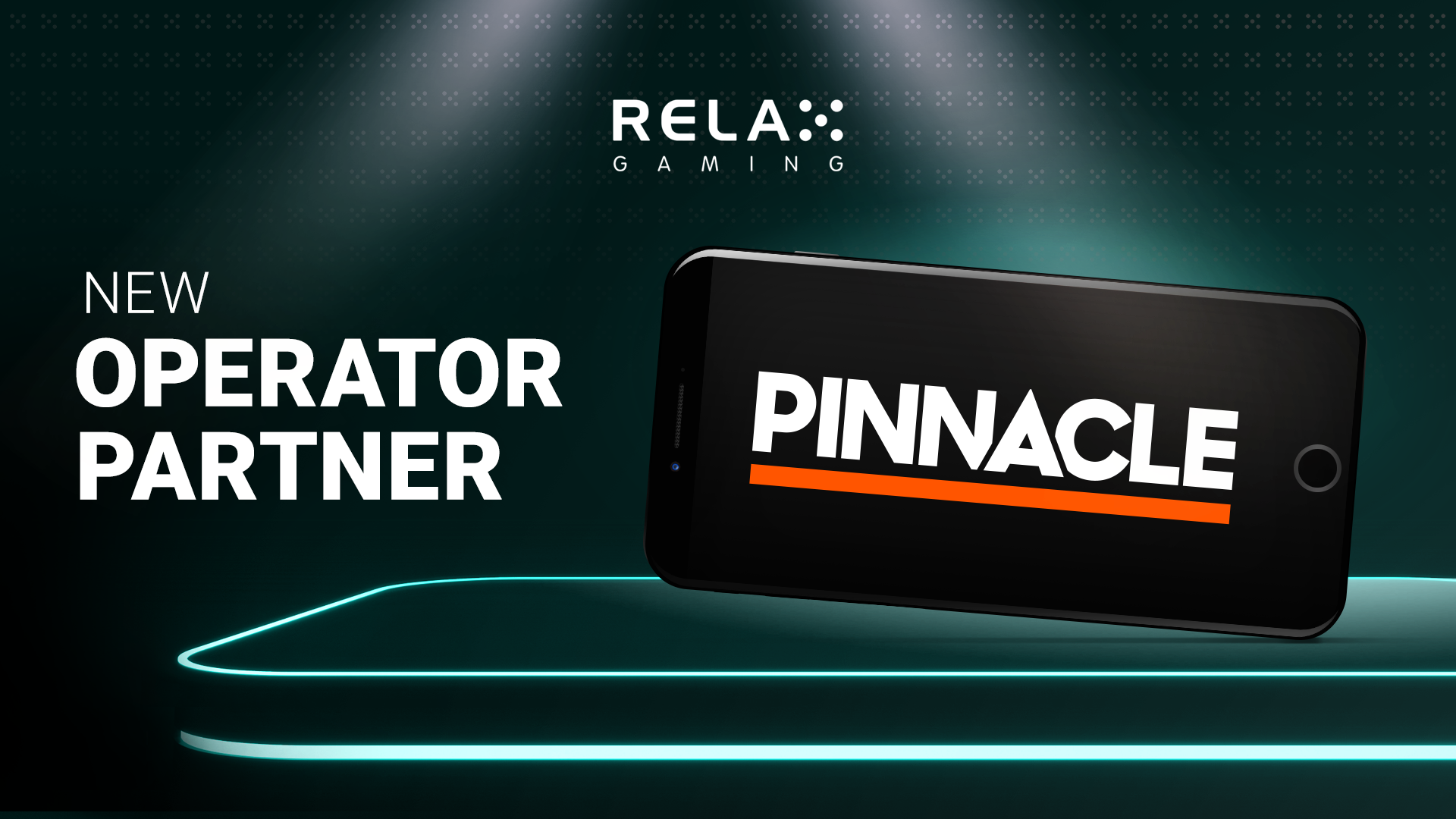 Relax Gaming expands distribution with Pinnacle partnership