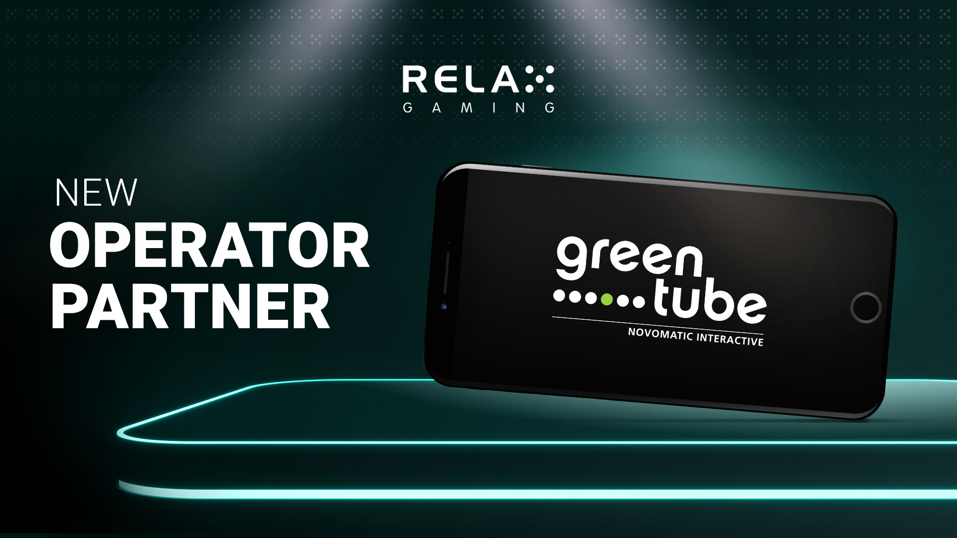 Relax Gaming partners with Greentube in content distribution deal