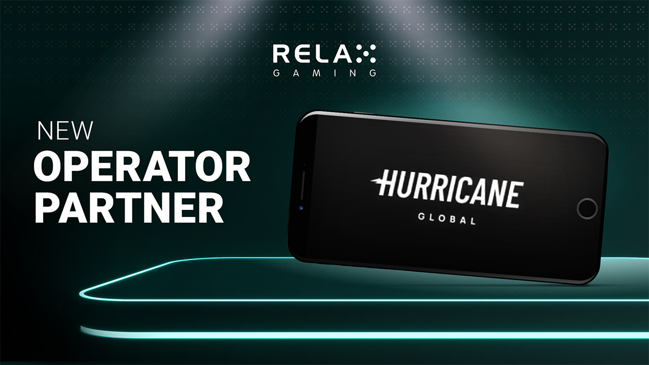 Relax Gaming goes live with Hurricane Global brands