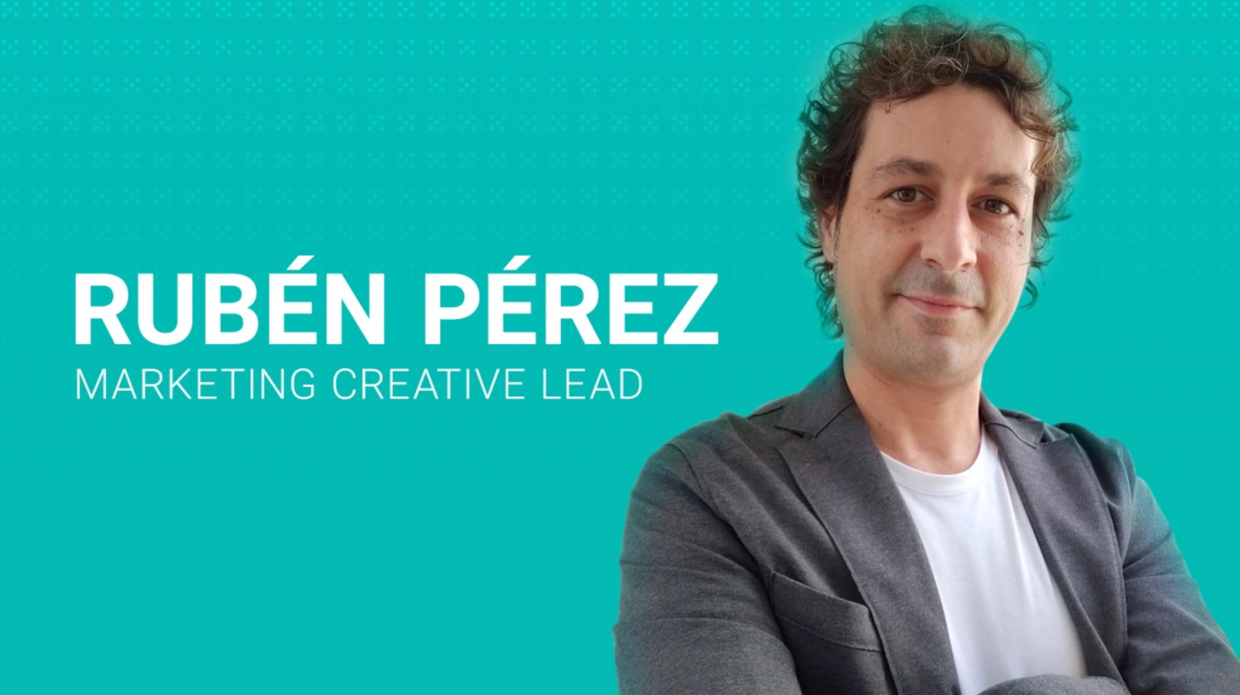 Relax Welcomes Marketing Creative Lead Rubén Pérez