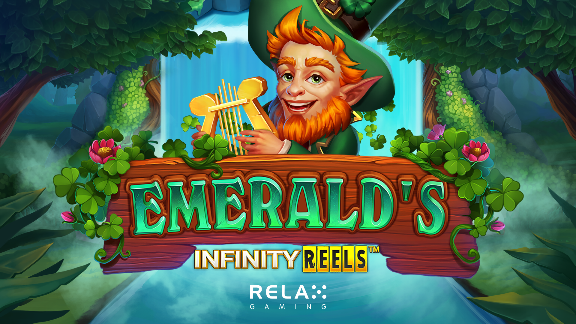 Relax Gaming brings good luck with Emerald's Infinity Reels