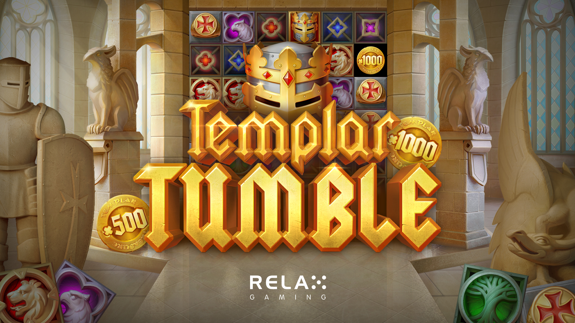 Divine gameplay on offer in Relax Gaming's new Templar Tumble