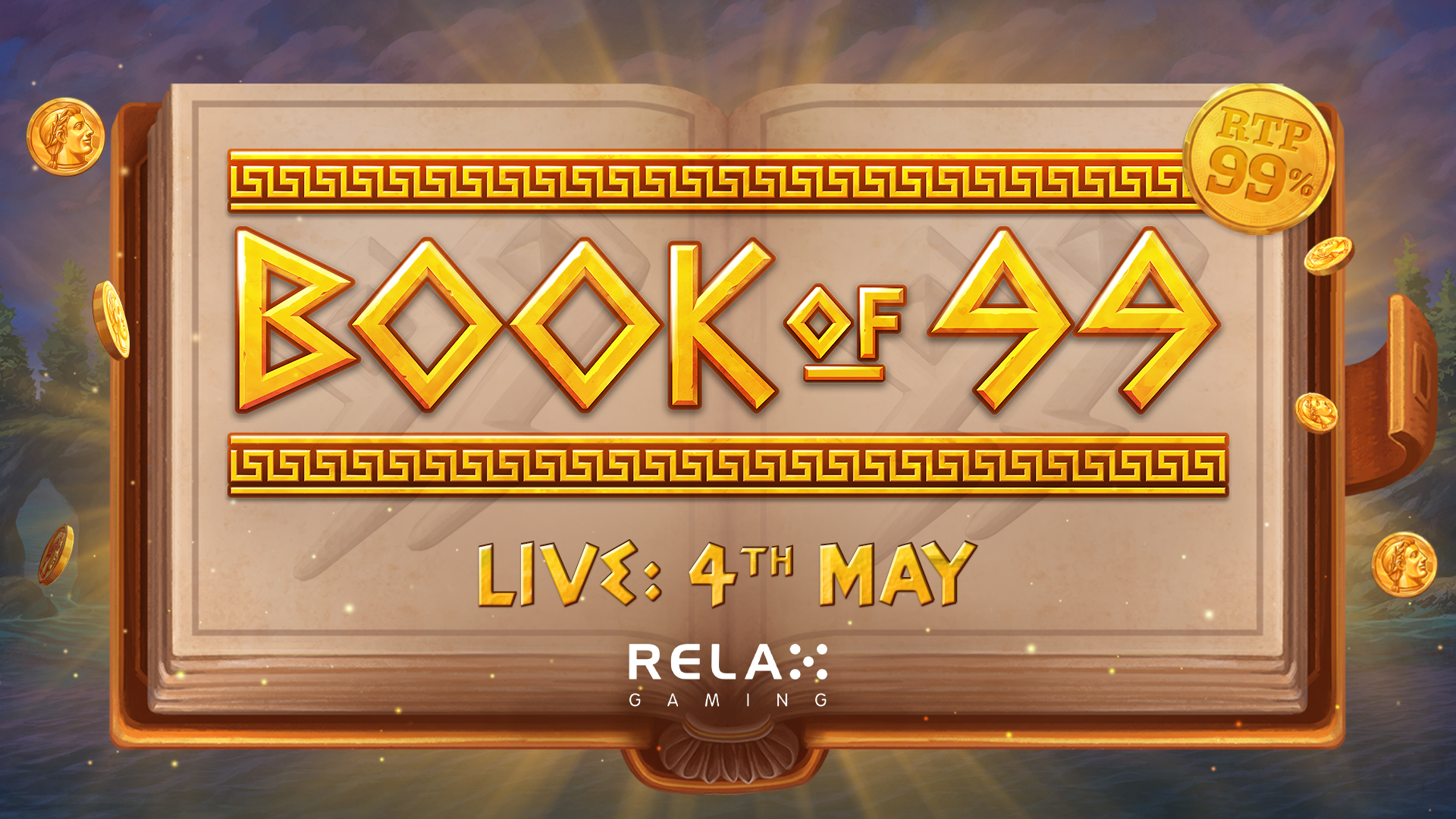 Relax Gaming rewrites the genre with Book of 99