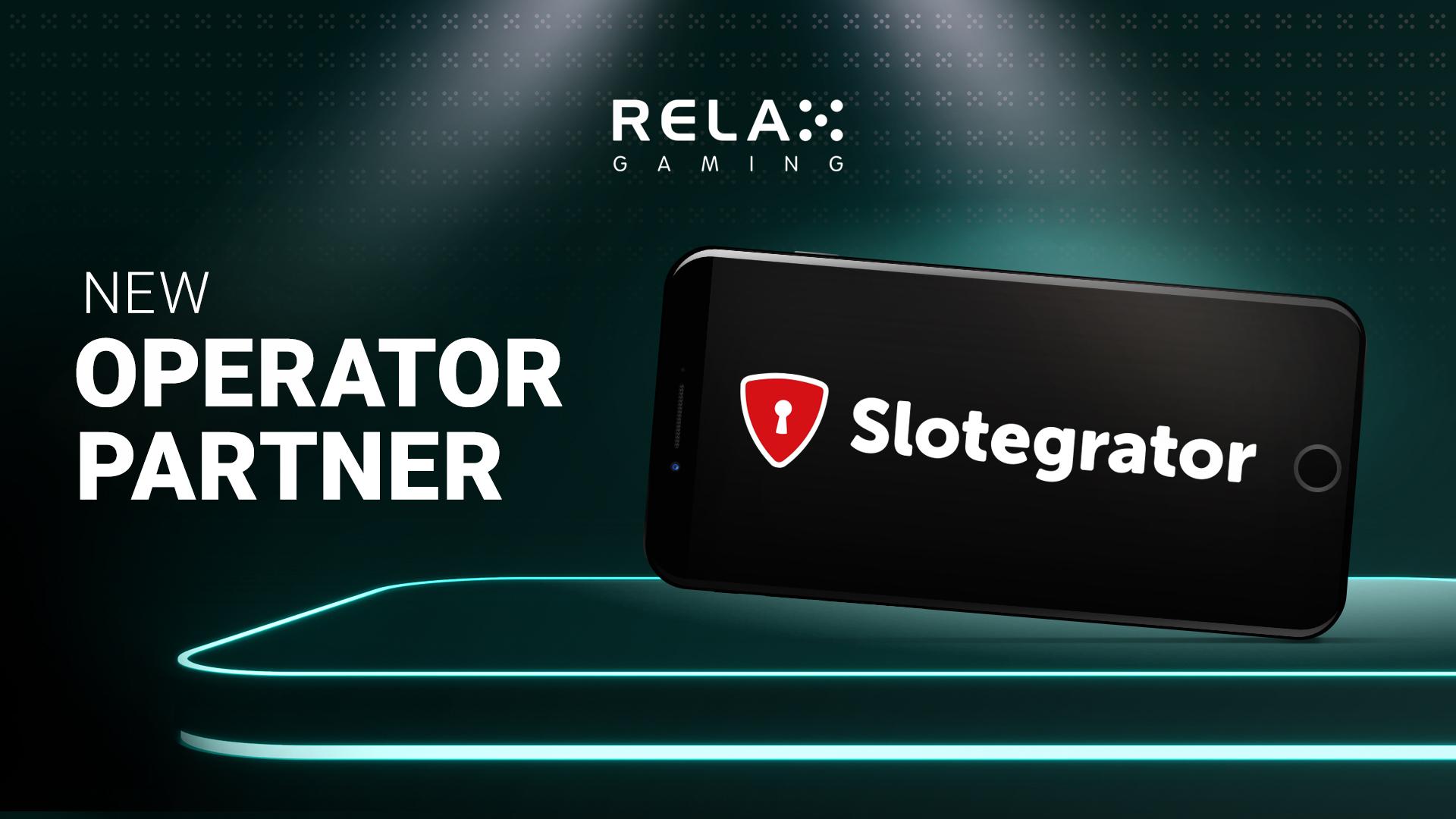 Slotegrator integrates Relax Gaming's award-winning games