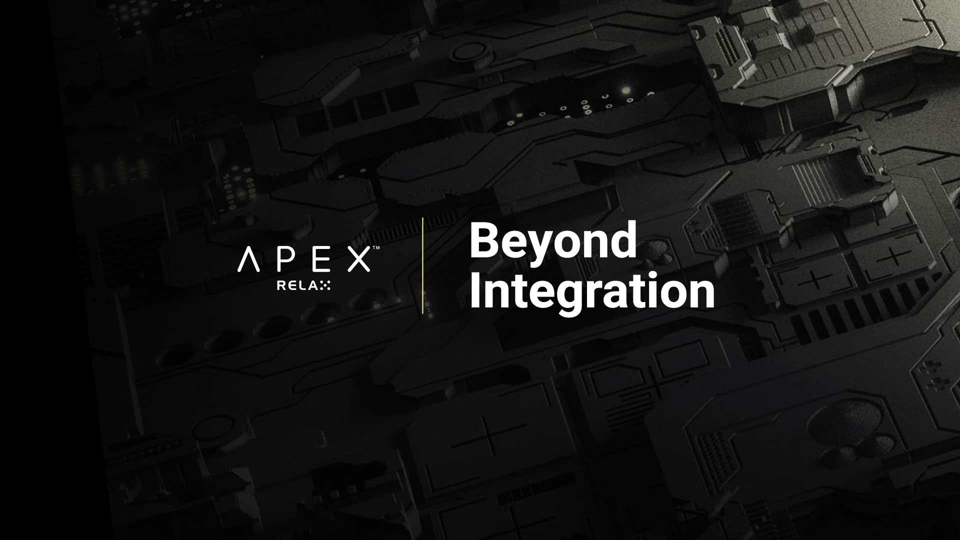 Relax Gaming transforms front-end integration with Relax Apex™ launch