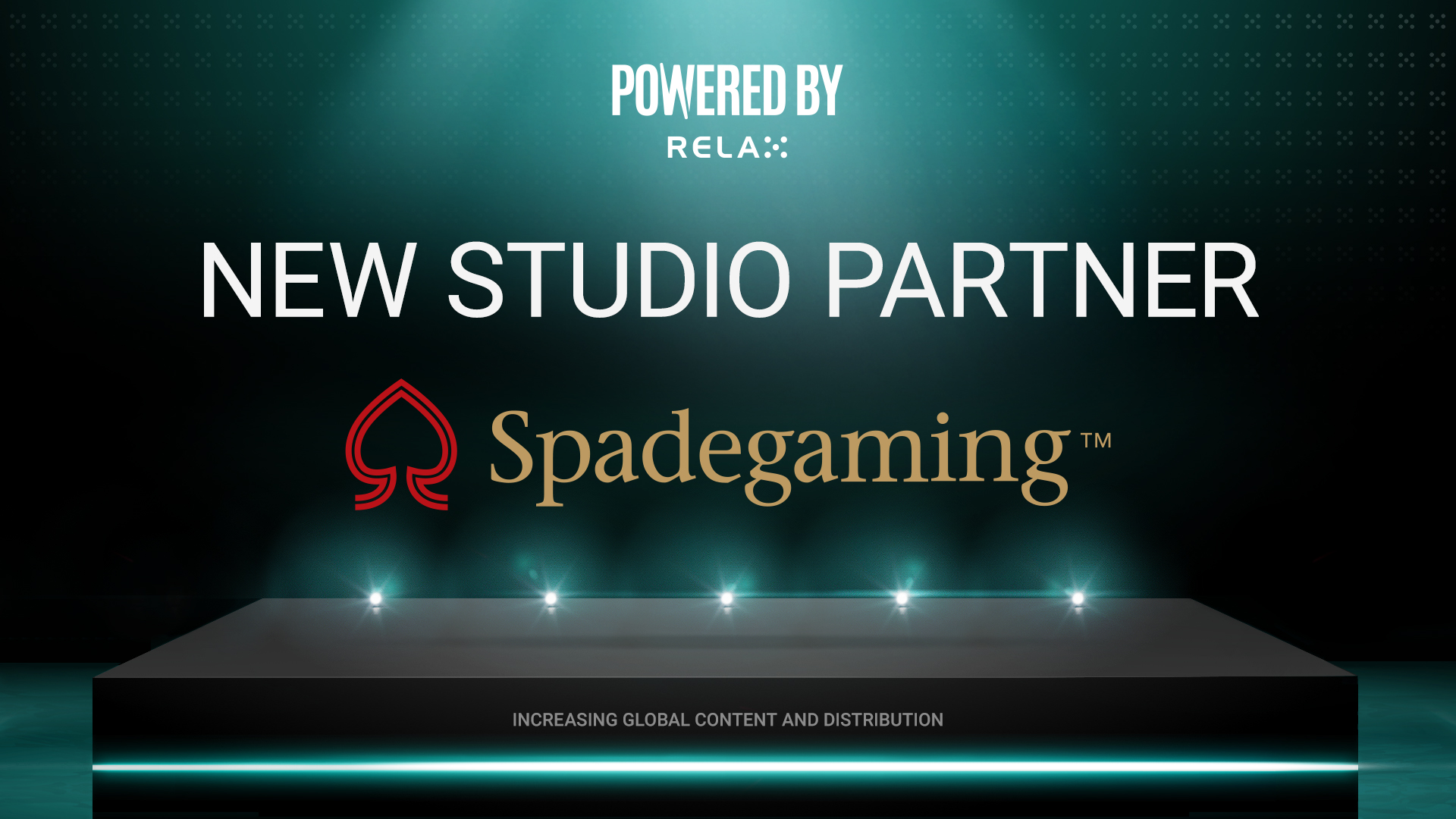 Relax signs Spadegaming as latest Powered By Relax recruit