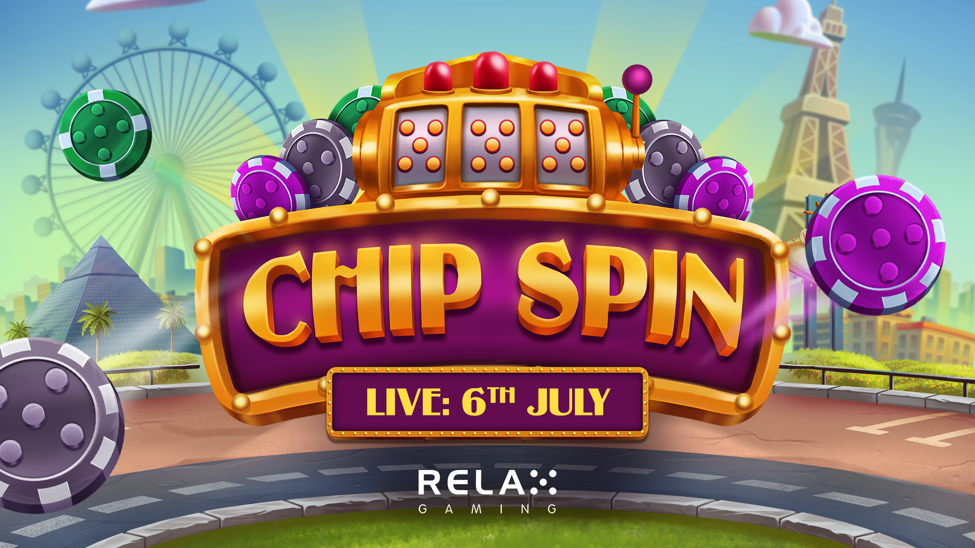 Relax Gaming puts its cards on the table for Chip Spin