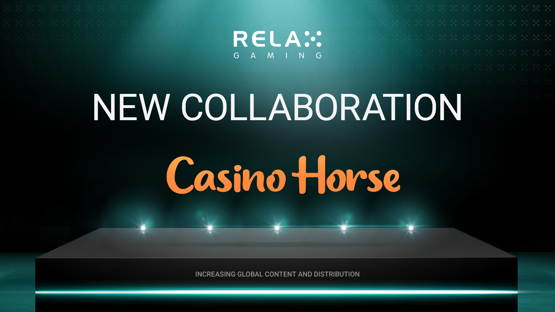 Relax Gaming Teams up with Casino Horse