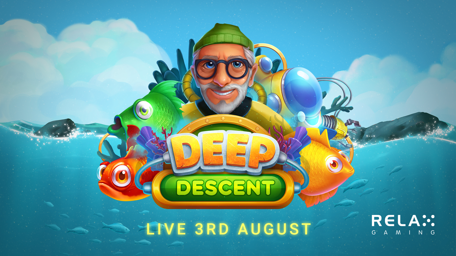 Players search for sunken treasure in Relax Gaming's Deep Descent