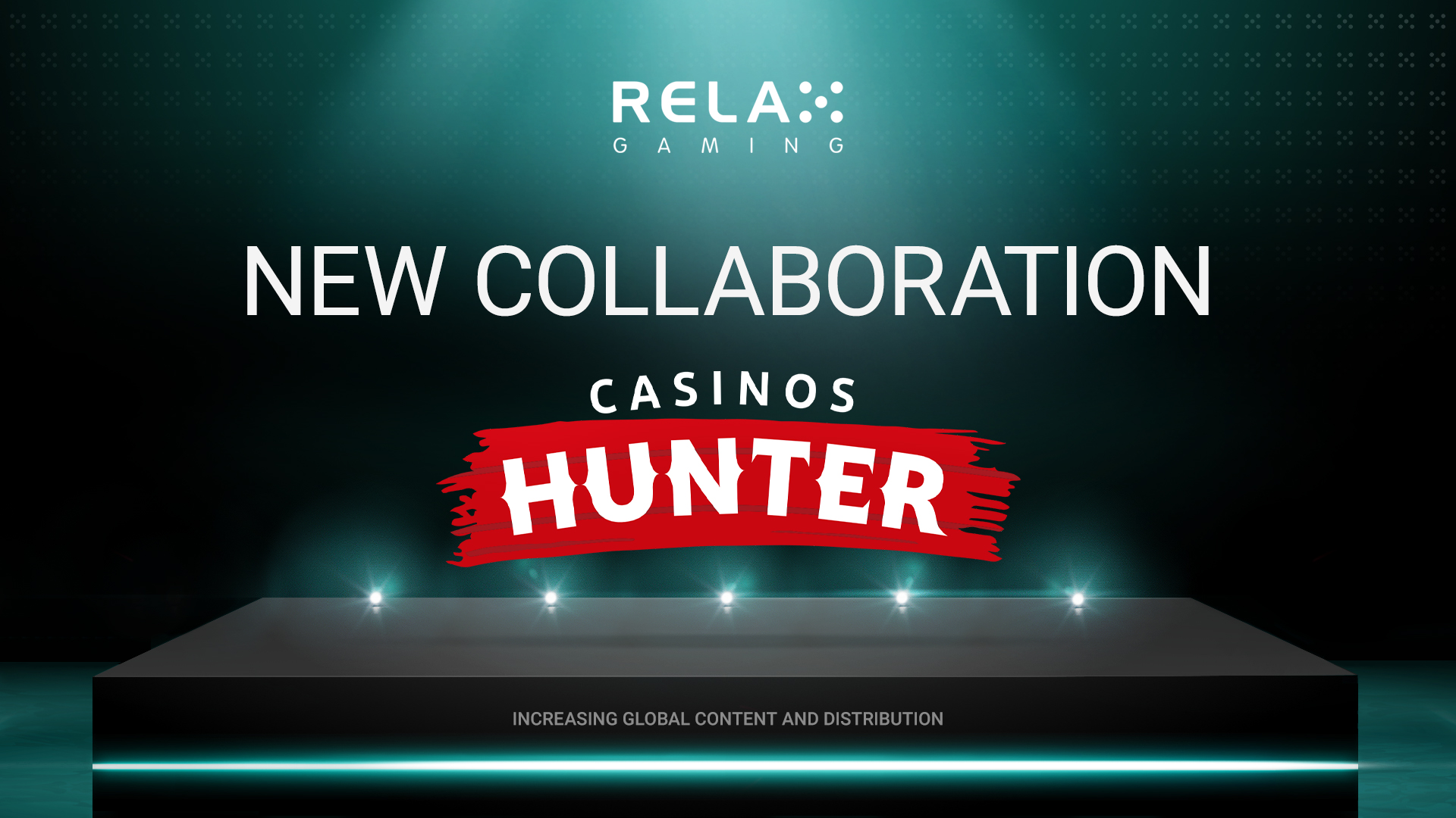 Relax Gaming Partners with CasinosHunter