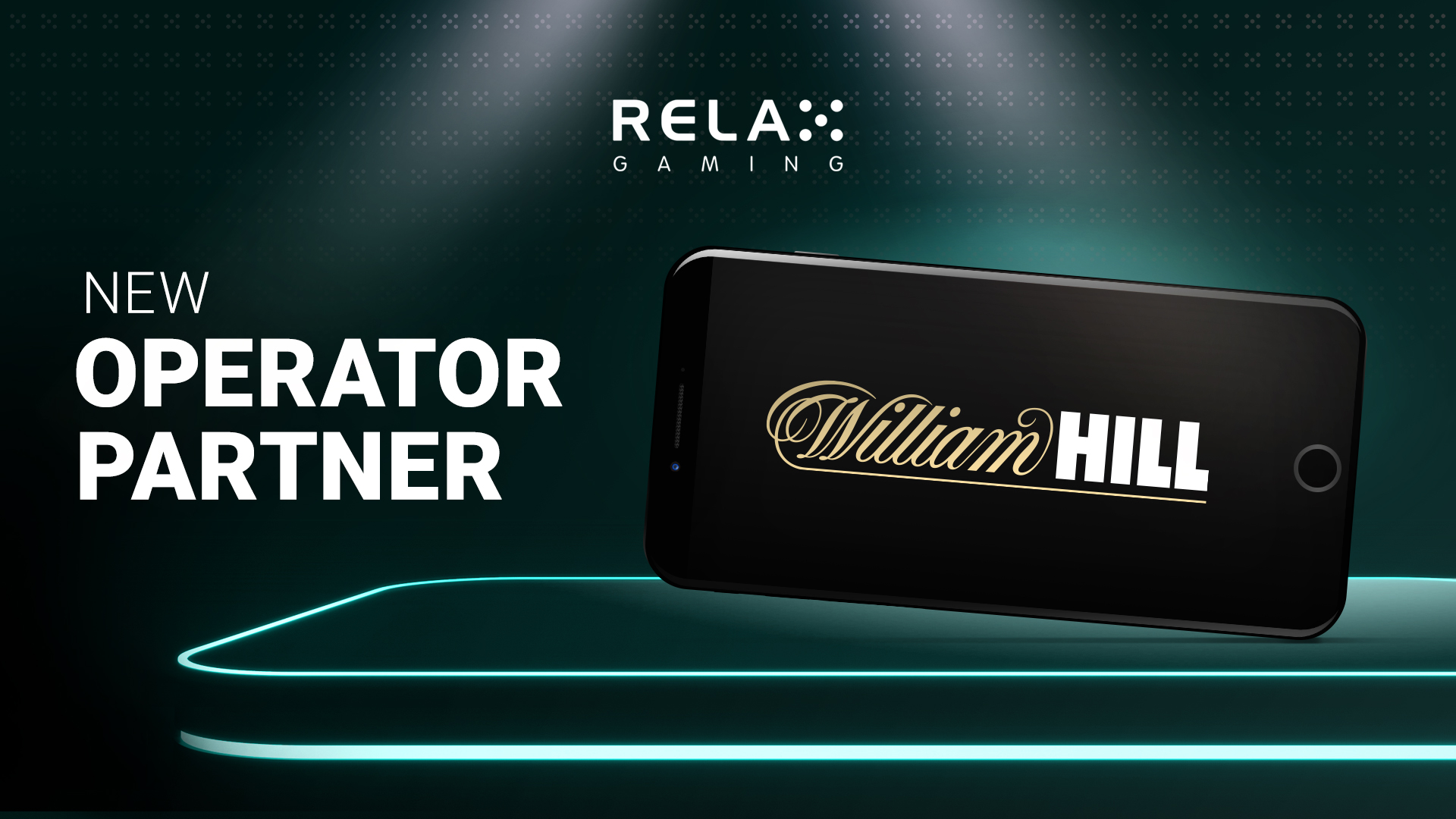 Relax Gaming partners William Hill in latest UK expansion
